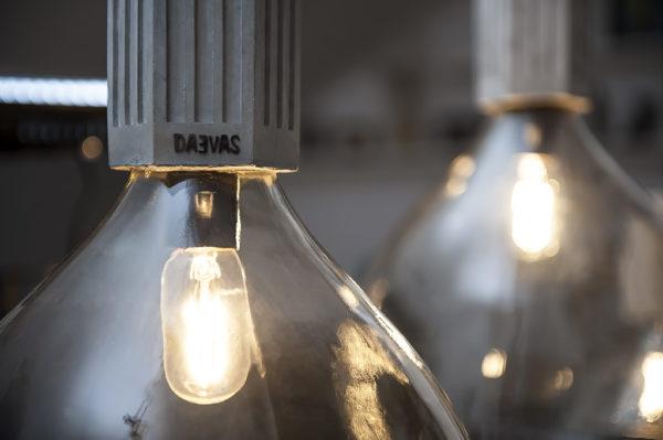 Sequence Pending Concrete Lamp Detail Image